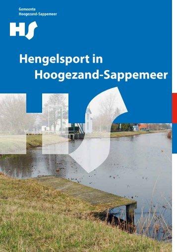 Vissen in Hoogezand-Sappemeer brochure 2011