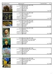13 kunstenaar Vincent van Gogh (1853 - 1890) - Kröller-Müller ...