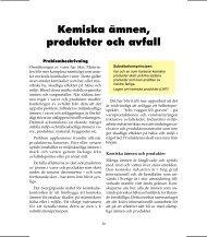 Kemiska ämnen, produkter och avfall - Länsstyrelserna