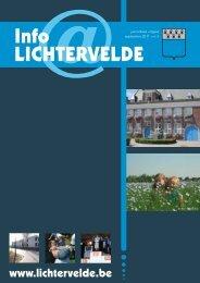 Info LIchterveLde - Gemeente Lichtervelde