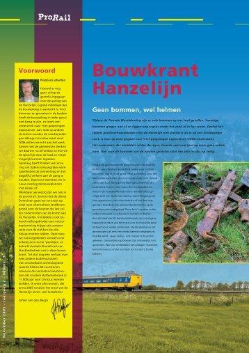 Bouwkrant Hanzelijn no3-okt - ProRail