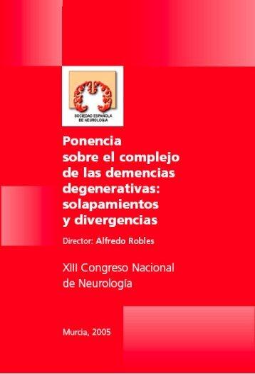 Ponencia sobre Demencias - Sociedad Española de Neurología
