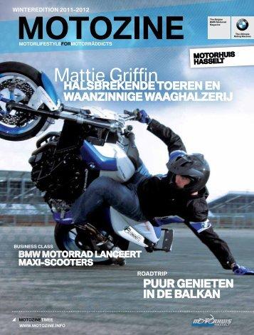 Mattie Griffin - Motorhuis Hasselt