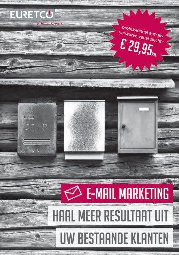 E-mail marketing UW bestaande klanten HAAL ... - Euretco Online