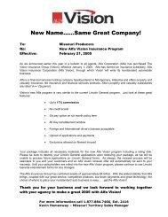New Name......Same Great Company! - Alfa Vision