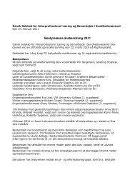 Bestyrelsens beretning - IPLS