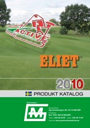 Produktkatalog Eliet och Active 2010 - Varuhuset