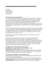 Protokoll från arbetsutskottets möte i Leader Linné den 17 februari ...