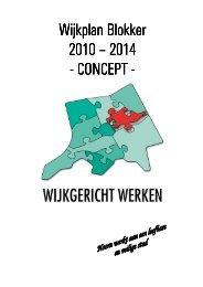 Wijkplan Blokker Wijkplan Blokker 2010 – 2014 ... - Gemeente Hoorn