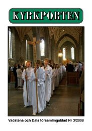 KYRKPORTEN - Vadstena och Dals församlingar
