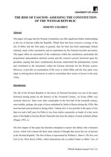 Chapter 25 communism fascism democracy social studies the rise of fascism school of politics international studies publicscrutiny Choice Image