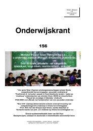 Onderwijskrant 156 - Beter Onderwijs Nederland