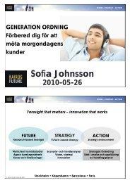 Sofia Johnsson - Tieto