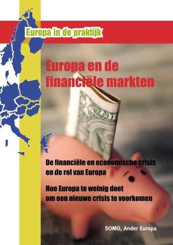 Europa en de financiële markten - Ander Europa