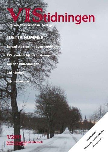 VIStidningen 1/2011