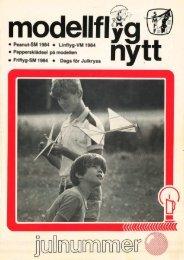 0 Peanut-SM 1984 o Linflyg-VM1984 0 ... - Modellflygnytt