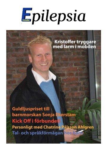 Kick Off i förbundet! - Svenska Epilepsiförbundet