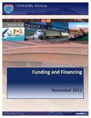 Funding and Financing - I-15 Mobility Alliance