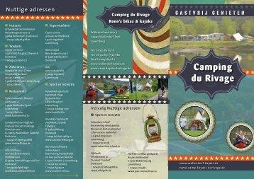 Folder - Camping du Rivage en Ronn`s Bikes and Kajaks