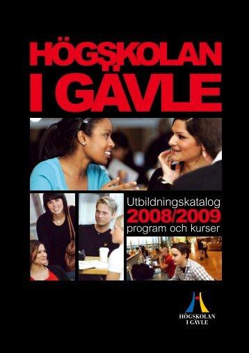 Utbildningskatalog - Högskolan i Gävle