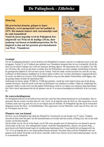 Provinciaal Domein De Palingbeek