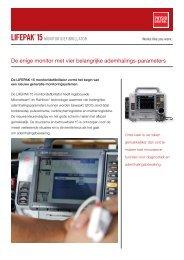 De enige monitor met vier belangrijke ademhalings ... - Physio-Control