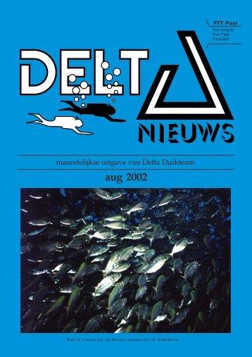 aug 2002 - Delta Duikteam
