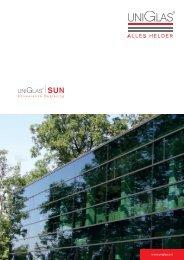 PDF Download UNIGLAS® | SUN Zonwerende beglazing