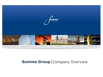 Summa Group Company Overview