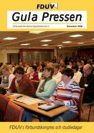 Gula Pressen december 2008 - Förbundet De Utvecklingsstördas Väl