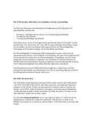 Het GAIA-project, informatie voor aanbieders van bij- en nascholing ...
