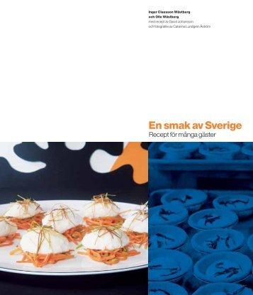 Presentationsbroschyr – En smak av Sverige - Millhouse