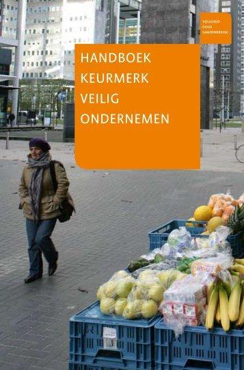 Handboek keurmerk Veilig ondernemen - s-Hertogenbosch
