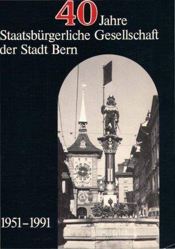 3. Die Staatsbürgerliche Gesellschaft der Stadt Bem