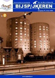 Suikersilo's Halfweg - Bouwbedrijf MJ De Nijs en Zonen BV