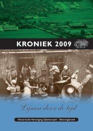 Kroniek 2009 - Lijnen door de Tijd