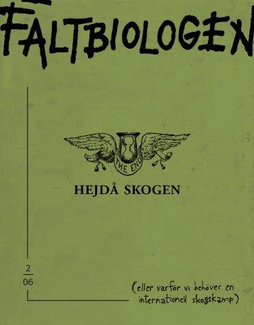 Fältbiologen 2/2006.pdf - Fältbiologerna