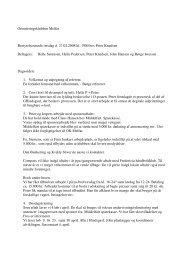 Referat Bestyrelsesmøde 27/02/2008 - OK Melfar
