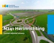 N241 Herinrichting - Provincie Noord-Holland