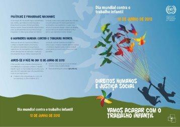 Dia mundial contra o trabalho infantil - Autoridade para as ...