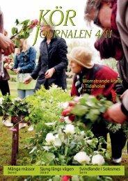 Nr 4/2011 - Sveriges Kyrkosångsförbund