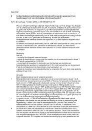 Wet WOZ 2 Invloed bodemverontreiniging die niet behoeft te worden ...