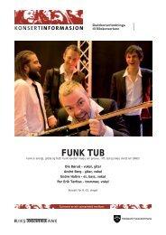 Funk tub.indd - Den kulturelle skolesekken Hordaland