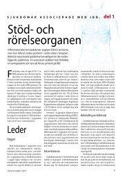 Stöd- och rörelseorganen - Crohn ja Colitis ry.