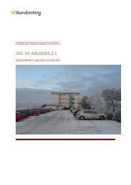OBJEKTSBESKRIVNING DEL AV ARLANDA 2:1 - CMS Office