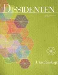 Dissidenten nr 2 2010 - Juridiska Föreningen