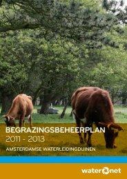 BegrazingsBeheerplan 2011 - 2013 - Waternet
