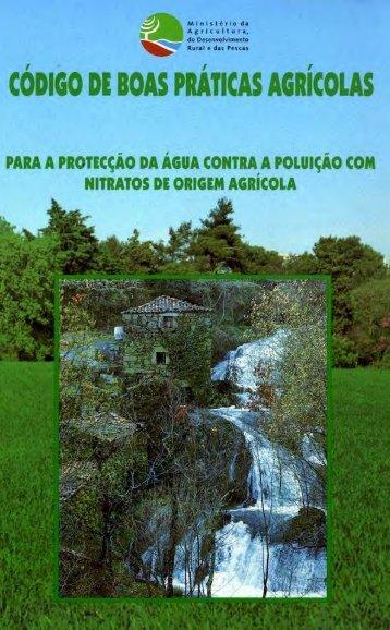 Código das Boas Práticas Agrícolas - DRAP Algarve