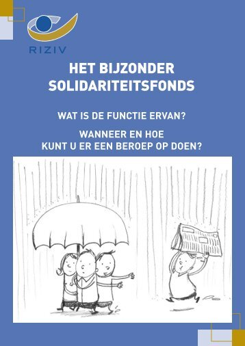 Bijzonder Solidariteitsfonds - Mantelzorg.be