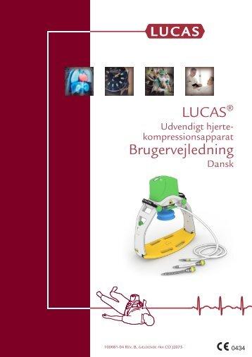 LUCAS Brugervejledning - Lucas CPR